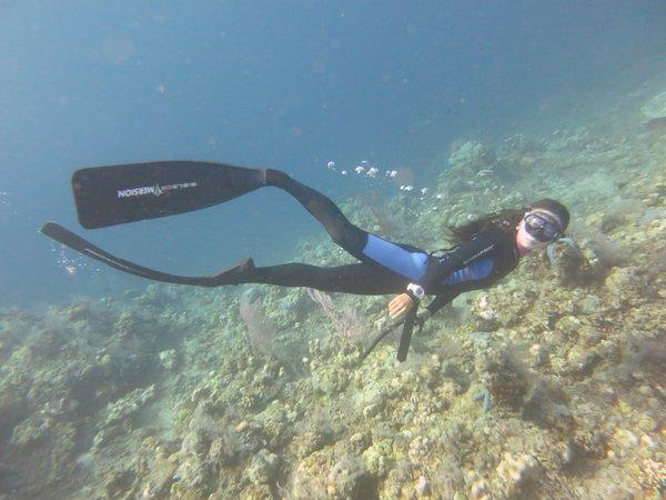 Mari_freediving at Amed
